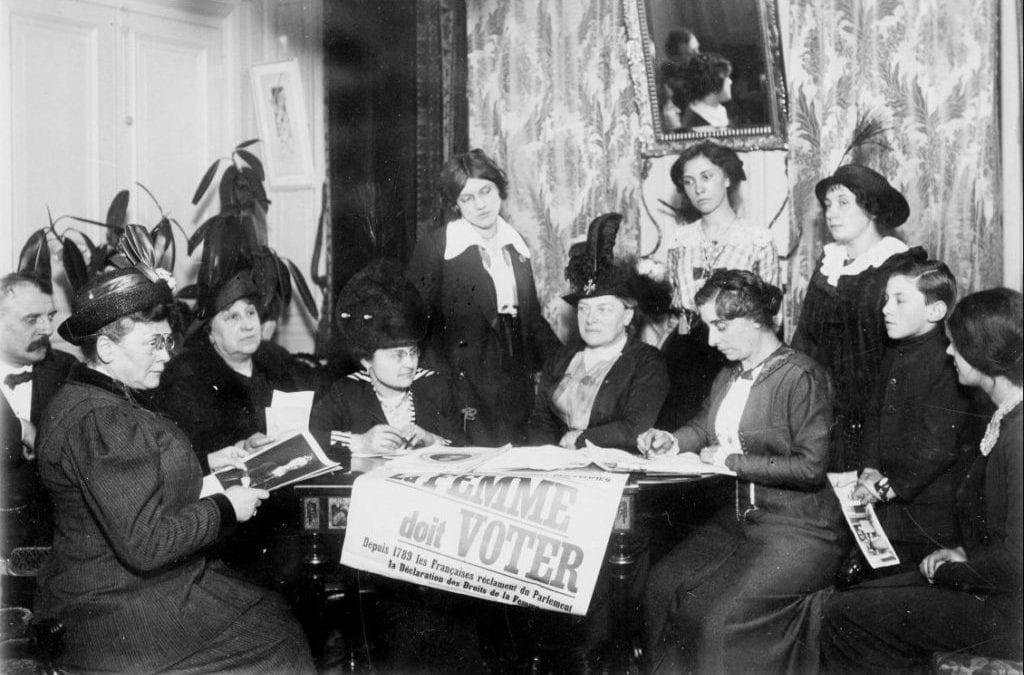 Le mouvement des suffragettes françaises : récit d'un déni de victoire