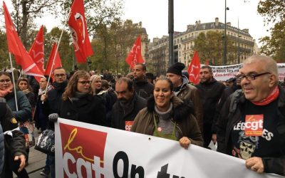 Nawel Benchlikha: «Pas de syndiqué·es sans syndicat!»